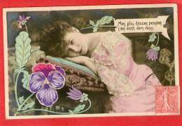Jolie JEUNE FEMME  - Mes Plus Douces Pensées....... - Vrouwen