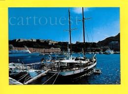 CPSM MONACO Le Port Yacht Voilier - Harbor