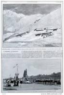 Poste Des Chasseurs Alpins Au Fréjus - Col D´Arrondaz - Page Original - Alte Seite 1902 - Documents Historiques