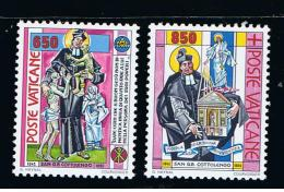 1992 - VATICANO - S11E - SET OF 2 STAMPS ** - Unused Stamps