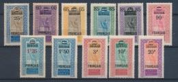 Colonies Françaises SOUDAN Série N°42 à 52 N* C 88 € N2314
