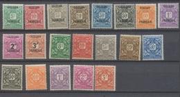 Colonies Françaises SOUDAN Taxe N°1 à 20 N* C 38 € N2322