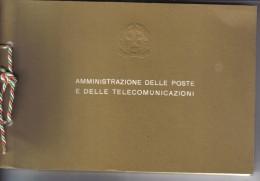 ITALIA 1980 LIBRO DEI FRANCOBOLLI ANNATA COMPLETA ( Macchioline Sulle Pagine Interne ) - 6. 1946-.. Repubblica