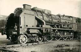TRAIN 240416 - PHOTO VILAIN - 19 BRIVE 240A710 - Train Locomotive Gare Chemin De Fer - Brive La Gaillarde