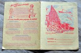 """Protège Cahier """"Pêche De La Morue"""" + Recettes - Protège-cahiers"""