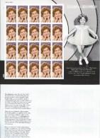 USA. Scott #  MNH Sheet Of 20. Shirley Temple Legend Of Hollywood 2016 - Fogli Completi
