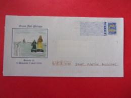 PAP Grand-Fort-Philippe, Géant, Bateau, Logo Bleu - Carnaval