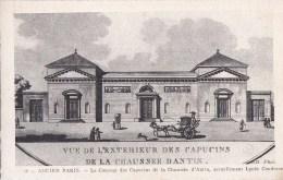 Ancien PARIS 8° Dessin Sur Canson ND N° 79 Façade LYCEE Condorcet Ancien LYCEE Bonaparte CLOITRE Des Capucins - Distretto: 08