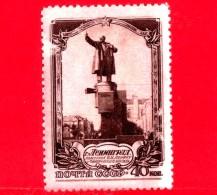 Nuovo - RUSSIA  - CCCP - 1953 - Leningrado - Monumento A Vladimir Lenin - 40 - 1923-1991 URSS