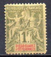 3/ Diego Suarez : N°  37 Neuf  X  , Cote :  85,00 € , Disperse Trés Belle Collection ! - Neufs