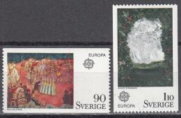 Sweden    Scott No. 1117-18     Mnh    Year  1975 - Schweden