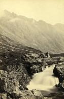 Scotland Ecosse Chutes De Glencoe Waterfalll Ancienne CDV Photo GW Wilson 1865 - Old (before 1900)
