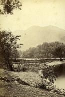 Scotland Ecosse Loch Katrine The Silver Strand Ancienne CDV Photo GW Wilson 1865 - Photographs