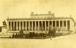 Allemagne Ville De Berlin Altes Museum Ancien Musée Architecture Ancienne CDV Photo 1865 - Old (before 1900)