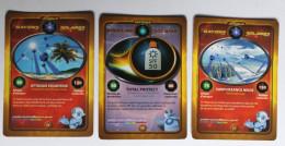 3 Cartes Les Chevaliers Du Soleil - Trading Cards