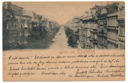 CPA - MAGDEBOURG (Allemagne) - Gruss Aus Magdeburg - Kaiserstrasse - 1898 - Magdeburg