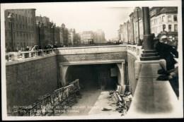 Antwerpen : Ingang Van Den Grooten Tunnel : LITS-kaart - Antwerpen