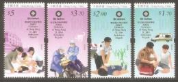2016 HONG KONG CENTENARY OF ST.JOHN AMBULANCE BRIGADE 4V - Unused Stamps