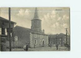 DONCOURT Les CONFLANS - Rue Principale , Eglise - Animée - 2 Scans - Unclassified