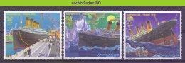 Mnp294 TRANSPORT SCHEPEN HARBOUR TITANIC SHIPS SCHIFFE BATEAUX QWS 1998 PF/MNH # - Boten