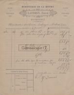 29 254 QUIMPERLE FINISTERE 1900 MINOTERIE DE LA MOTHE Ets LAUDREN JOSEPH Grains Farines A ANTHOINE Boulanger CARHAIX - 1900 – 1949