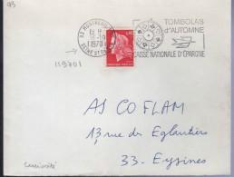 Lettre De 93 Montreuil Ppal 16-10 II970I Le Millésime Est Parasité Par Des III Ce Qui Donne Un Millésime Curieux - Variedades Y Curiosidades