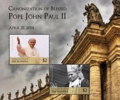 Micronesia 2014 - Canonisation Du Pape John Paul II - BF Neufs // Mnh - Micronésie