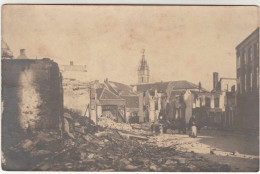 Diksmuide, Dixmude, Unieke En Originele Foto, Fotokaart, Oorlogsschade (pk29578) - Diksmuide
