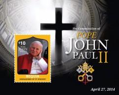 St Vincent (Bequia) 2014 - Canonisation Du Pape John Paul II - BF Neufs // Mnh - St.Vincent & Grenadines