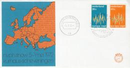 Nederland - FDC 5-5-1972 - Europa/CEPT - 's-Gravenhage - M 987-988 - 1972