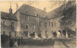 Ecaussinnes-Lalaing NA1: Vieux Château. Cour D'honneur Vue De La Tour D'entrée... - Ecaussinnes