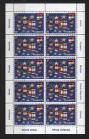 Slowenien 2004 - Kleinbogen ** Zur EU-Erweiterung 2004 - Europa Cept + Mitläufer - Slovenië