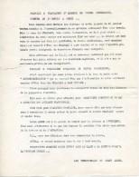 Lot De 2 Tracts Pour L'Algérie Française - Historical Documents