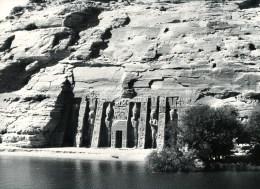 FOTO Abu Simbel, Hathor Tempel Der Nefertan, Vor Verlegung, Ca. 1950/1955, Original, - Temples D'Abou Simbel
