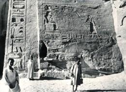 FOTO Abu Simbel, Detail., Vor Verlegung, Ca. 1950/1955, Original, - Tempel Von Abu Simbel