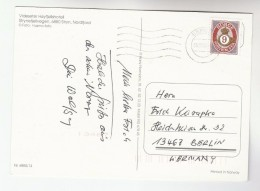 2002  NORWAY Stamps COVER Postcard To Germany - Norwegen