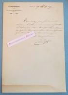 L.A.S 1837 Du Comte De LOSTANGES - La Quotidienne - à M. De SAINT PRIEST - Lettre Autographe LAS Noblesse - Autographes