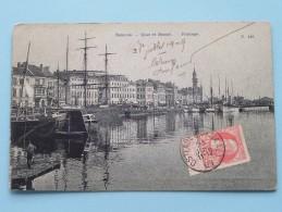 Quai Et Bassin - Pilotage ( N 143 ) Anno 1909 ( Zie Foto Details ) !! - Oostende