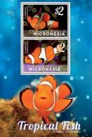 Micronesia 2014 - Faune Marine, Poissons éxotiques, Poisson Clown - BF Neuf // Mnh - Micronésie