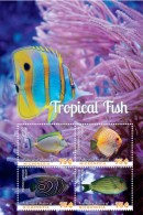 Micronesia 2014 - Faune Marine, Poissons éxotiques - BF Neuf // Mnh - Micronésie