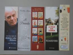 PORTUGAL    - 5 MARCADORES DE LIVROS    2 SCANS - (Nº14795) - Marque-Pages