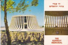 ISRAEL---JERUSALEM---THE KENNEDY MEMORIAL---voir 2 Scans - Israel