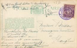 USA - Hawaii - Volcano Of Kilauea - Post From Hawaii To China Shangai 1913 - I.J. SEAPOST - Honolulu