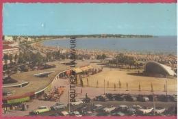 17 - ROYAN---La Plage La Pointe De Vallieres-l Le Boulevard De La Grandiere--L'Auditorium---cpsm Pf - Royan