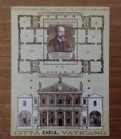 2008 Vaticano Foglietto Nuovo Stamp New MNH** - 5° Centenario Nascita Andrea Palladio - - Blocchi E Foglietti