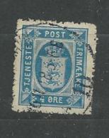 1914 USED Danmark,  Dienstmarken - Dienstzegels