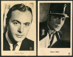 Charles Boyer X 4 Movie Cinema Film Postcards - Actors