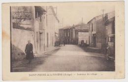 578 _ 09 - SAINT PIERRE DE LA RIVIERE . INTERIEUR DU VILLAGE . SCANS RECTO VERSO - France