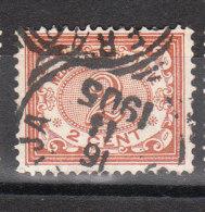 INDES NEERLANDAISES YT 42 Oblitéré 16-11-1905 JA.....RA.... - Niederländisch-Indien