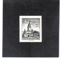 TAU1161  ÖSTERREICH 1960  SCHWARZDRUCK MICHL 1050  OHNE GUMMI Siehe ABBILDUNG - 1961-70 Unused Stamps